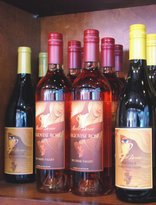 Hart's Desire Wines | Viognier and Rosé